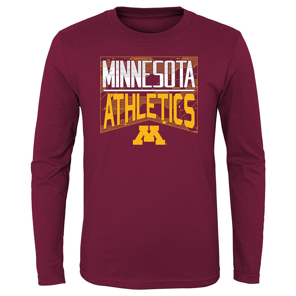 Boys 4-20 NCAA Minnesota Golden Gophers Energy Long Sleeve Tee