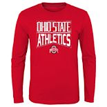 Boys 4-20 NCAA Ohio State Buckeyes Energy Long Sleeve Tee