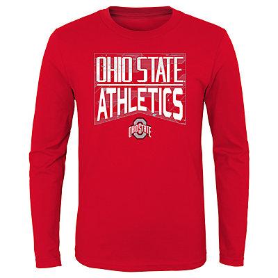 Boys 4-20 NCAA Ohio State Buckeyes Energy Long Sleeve Tee