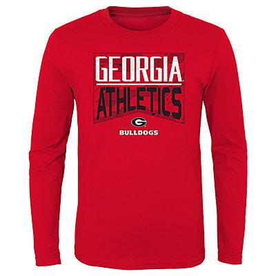 Boys 4-20 NCAA Georgia Bulldogs Energy Long Sleeve Tee