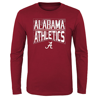Boys 4-20 NCAA Alabama Crimson Tide Energy Long Sleeve Tee