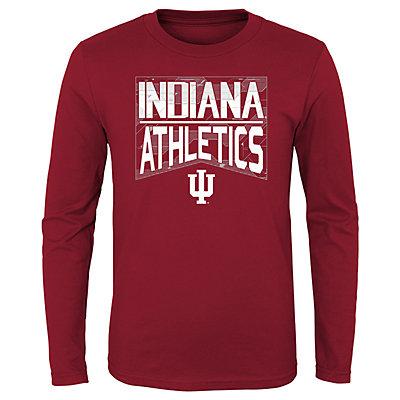 Boys 4-20 NCAA Indiana Hoosiers Energy Long Sleeve Tee