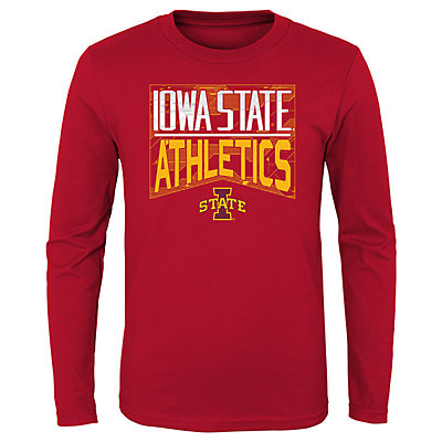 Boys 4-20 NCAA Iowa State Cyclones Energy Long Sleeve Tee