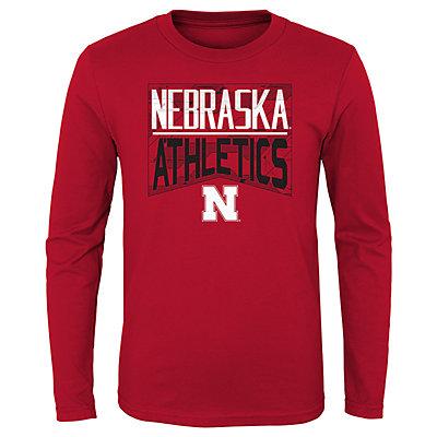 Boys 4-20 NCAA Nebraska Cornhuskers Energy Long Sleeve Tee