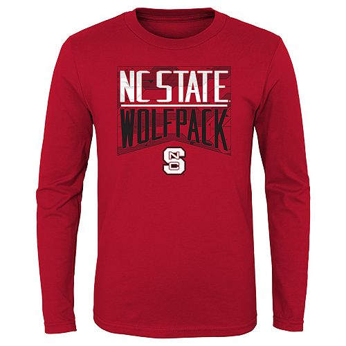 Boys 4-20 NCAA North Carolina State Wolfpack Energy Long Sleeve Tee
