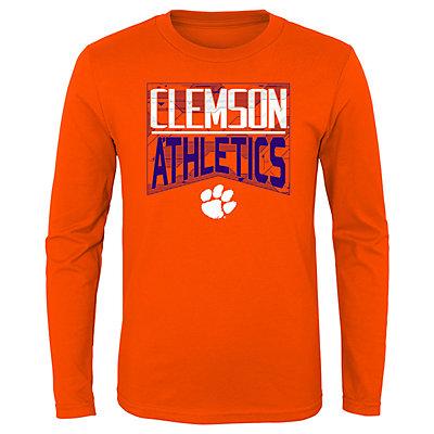Boys 4-20 NCAA Clemson Tigers Energy Long Sleeve Tee