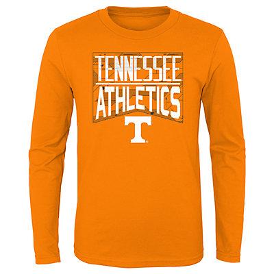 Boys 4-20 NCAA Tennessee Volunteers Energy Long Sleeve Tee