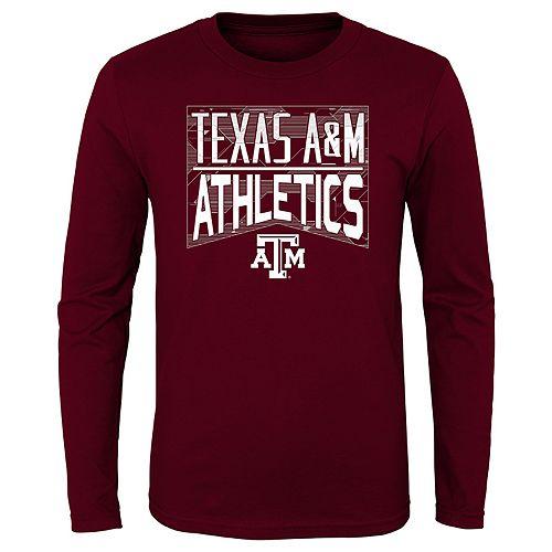 Boys 4-20 NCAA Texas A&M Aggies Energy Long Sleeve Tee