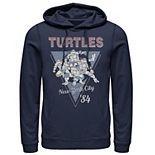 Men's Ninja Turtles Geometric New York City Hoodie