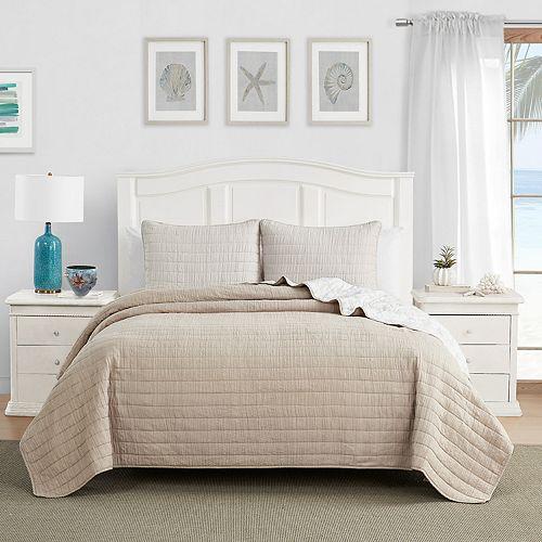Caribbean Joe Enzyme Washed Bedspread