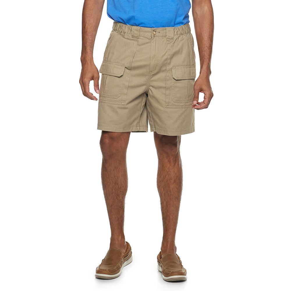 Men's Croft & Barrow® Side-Elastic 7.5-inch Cargo Shorts