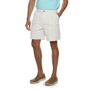 Men's Croft & Barrow Side-Elastic 7.5-inch Cargo Shorts