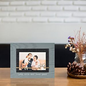 """New View Gifts & Accessories """"True Love has 4 Paws"""" Twine and Paw Print Frame"""