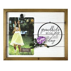 """New View Gifts & Accessories """"Grandkids Bring Joy to Everyday"""" Frame"""