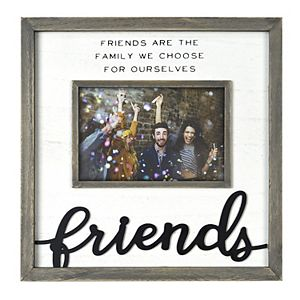 """New View Gifts & Accessories """"The Family We Choose"""" Wide Wood Frame"""