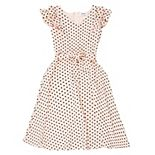 Girl's 7-16 Speechless Ruffle Sleeve Self-Tie Dress