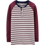 Boys 4-14 Carter's Striped Slub Henley