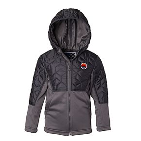 Boys' 4-7 I-Extreme Big Chill Mixed Media Quilted Hooded Jacket