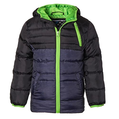Boys' 4-7 I-Extreme Big Chill Down Blend Jacket with Hood