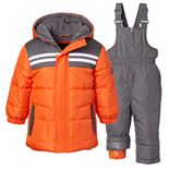 Boy's I-Extreme Mixed Media Insulated Two-Piece Snowsuits