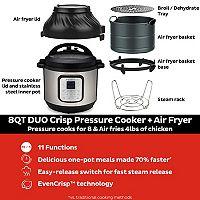 Instant Pot Duo Crisp 6-qt. Programmable Pressure Cooker & Air Fryer Deals