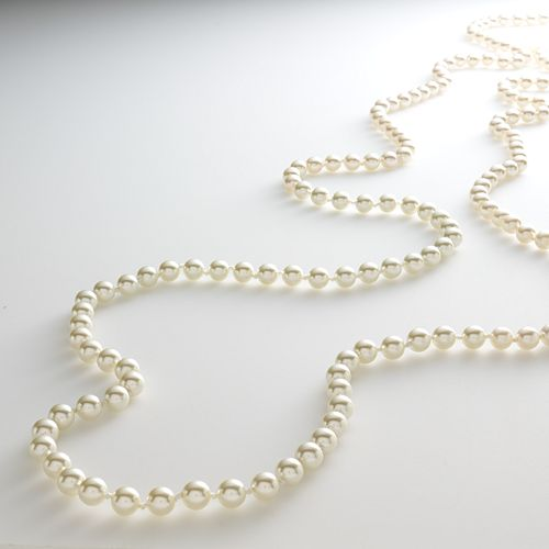 Croft & Barrow® Gold Tone Simulated Pearl Long Necklace