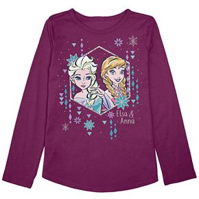 "Disney's Frozen Elsa & Anna Toddler Girl ""Sister Love"" Graphic Tee by Jumping Beans®"