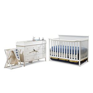 Dream On Me 4 In 1 Crib Changing Table Set