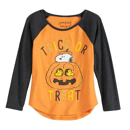 Toddler Girl Jumping Beans® Peanuts Trick-Or-Treat Graphic Tee
