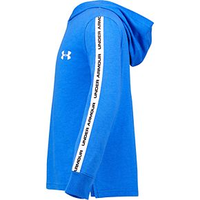 Boys 4-7 Under Armour Taped Hooded Tee