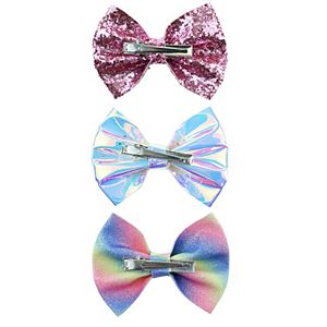 Girls Elli by Capelli 3pc Bow Clips