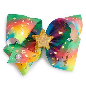 Girls 4-16 JoJo Siwa Rainbow Gold Star Hair Bow