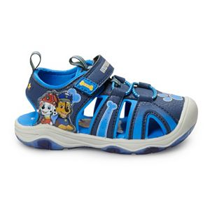 Paw Patrol Chase & Marshall Toddler Boy's Light Up Sandals