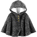 Baby Girl Carter's Hooded Cape Poncho