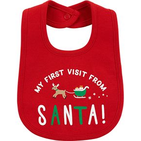 Carter's First Christmas Teething Bib