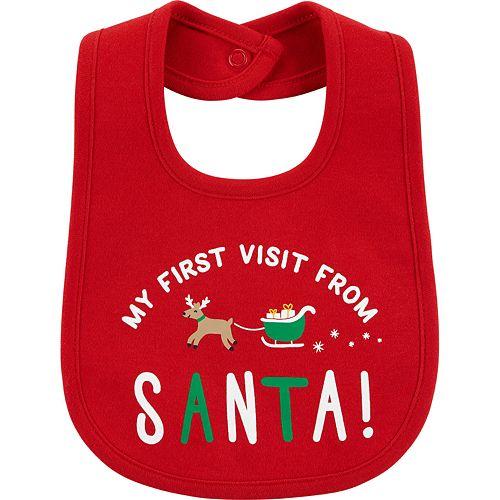 Carter's First Christmas Teething Bib