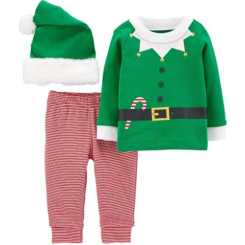 Baby Carter's 3-Piece Elf Suit Outfit