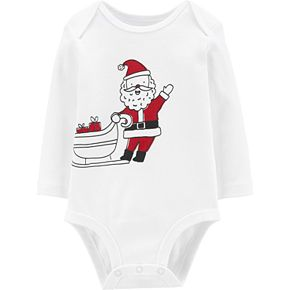 Baby Carter's Santa's Sleigh Collectible Bodysuit
