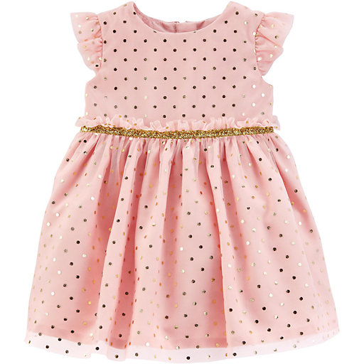 Carters Just One You Baby Girls Floral Dress Pink Multi