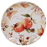 Certified International Harvest Splash Round Platter