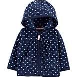 Baby Girl Carter's Zip-Up Fleece Cardigan