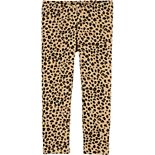 Baby Girl Carter's Leopard Cozy Fleece Leggings