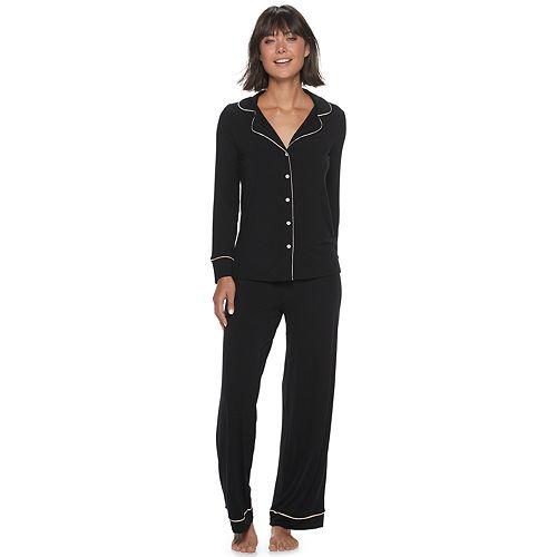 Women's Adore Me Justina Pajama Shirt & Pajama Pants Set