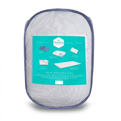 SensorPEDIC Back to Campus Bedding Bundle in a Bag