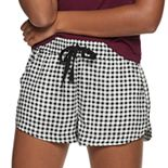 Juniors' SO® Dolphin Tie Front Shorts