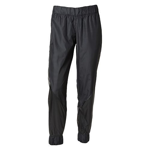 Women's Under Armour Metallic Woven Tapered Pants