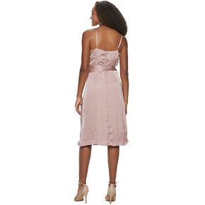 Girls' 7-16 Speechless Cowl Neck Dress