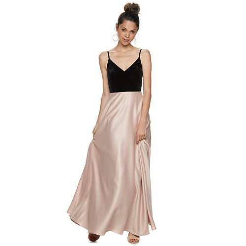 Juniors' Speechless Maxi Strappy Dress