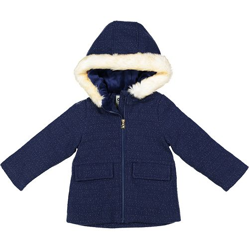 Toddler Girl OshKosh B'gosh® Navy Wool Coat