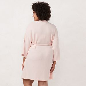 Women's LC Lauren Conrad Thermal Wrap Robe